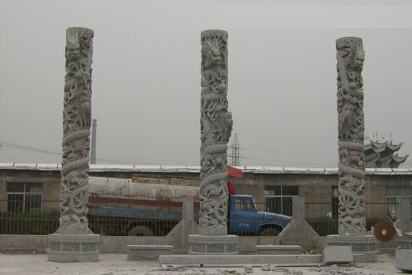 龙柱,石雕龙柱